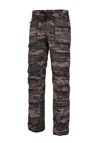 Брюки сноубордические мужские Burton Southside Slim Fit Pant Camo Tie Dye Stripe