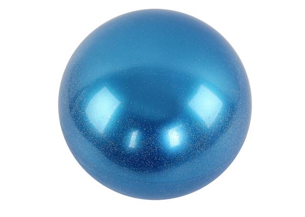 Мяч гимнастический d15 см синий металлик