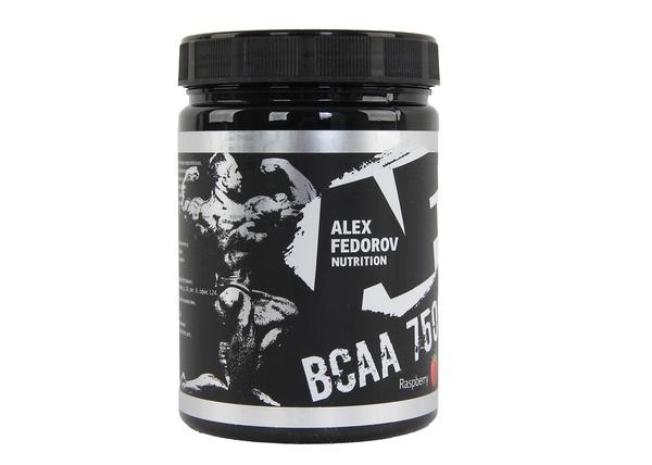 Комплекс аминокислотный AF Nutrition BCAA 7500 малина