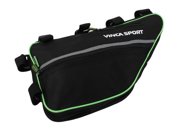 Сумка под раму Vinca Sport FB 05-4 черный/зеленый