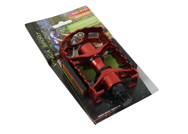 Комплект алюминиевых педалей Vinca Sport VP 04А  95*65мм