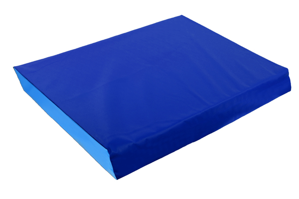 Мат гимнастический  (1000*2000*80 мм) сине-голубой