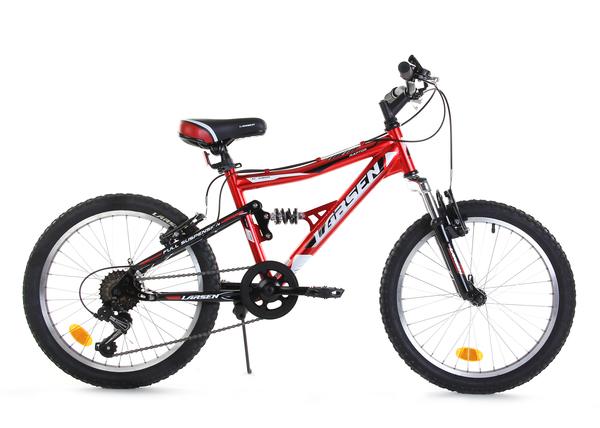 """Велосипед детский горный двухподвес Larsen Raptor 20"""""""