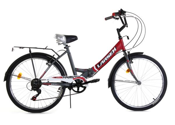 """Велосипед дорожный складной Larsen Tourist 2.0 24"""""""