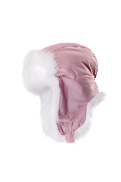 Шапка-ушанка детская Dorofey розовая