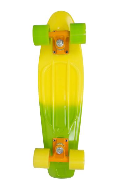 Мини-круизер Larsen Summer 2 желтый/зеленый