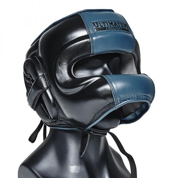 Шлем боксерский с бамперной защитой Ultimatum Gel3FaceBar