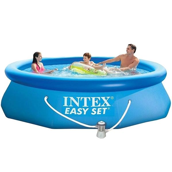 Бассейн надувной Intex Easy Set 305х76 см насос-фильтр (6+)