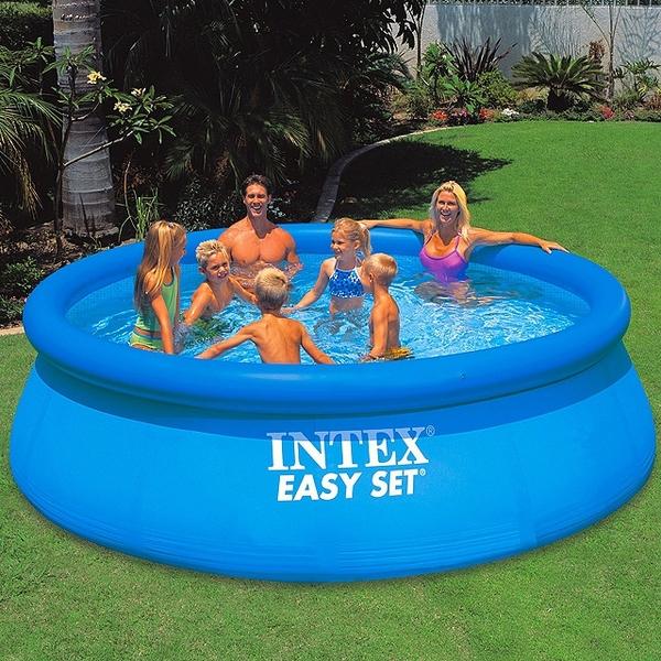 Бассейн надувной Intex Easy Set 366х76 см  (6+)