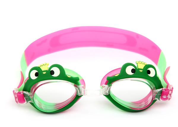 """Очки для плавания детские Larsen DR-G1721 """"Лягушонок"""""""