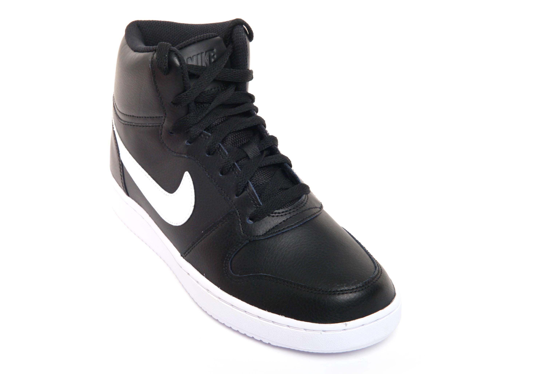 8662cd50 Кроссовки кожаные мужские Nike Ebernon Mid - Сеть спортивных ...