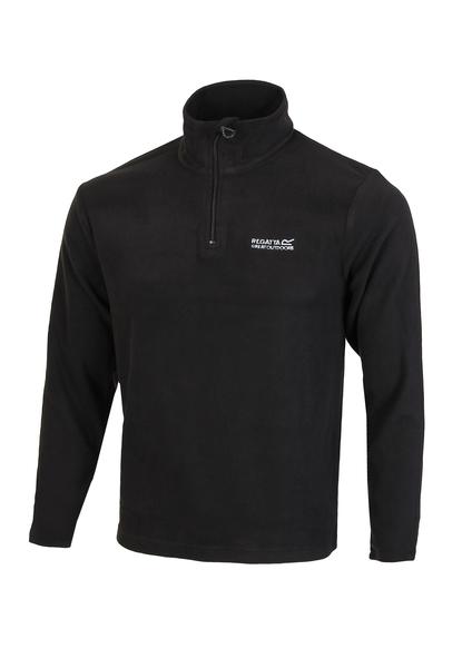 Толстовка мужская флисовая Regatta Thompson Fleece черная