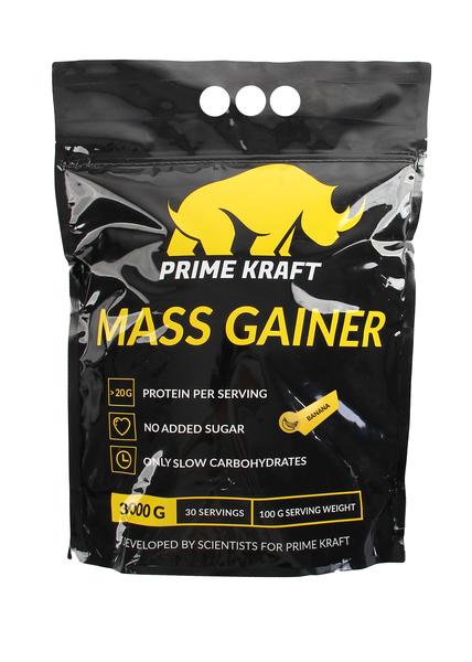Смесь белково-углеводная Prime Kraft Gainer 3000 г