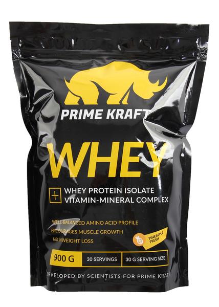 Коктейль белково-витаминный Prime Kraft WHEY 900 г