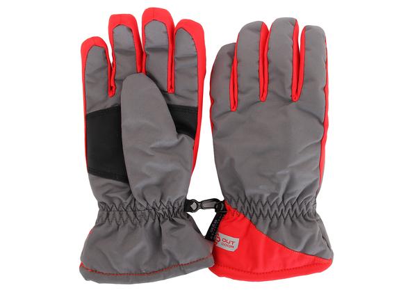 Перчатки женские AS4 серый