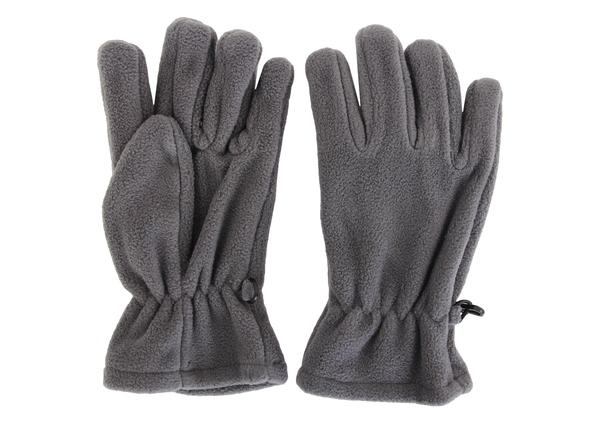 Перчатки детские флисовые AS4 серые One Size