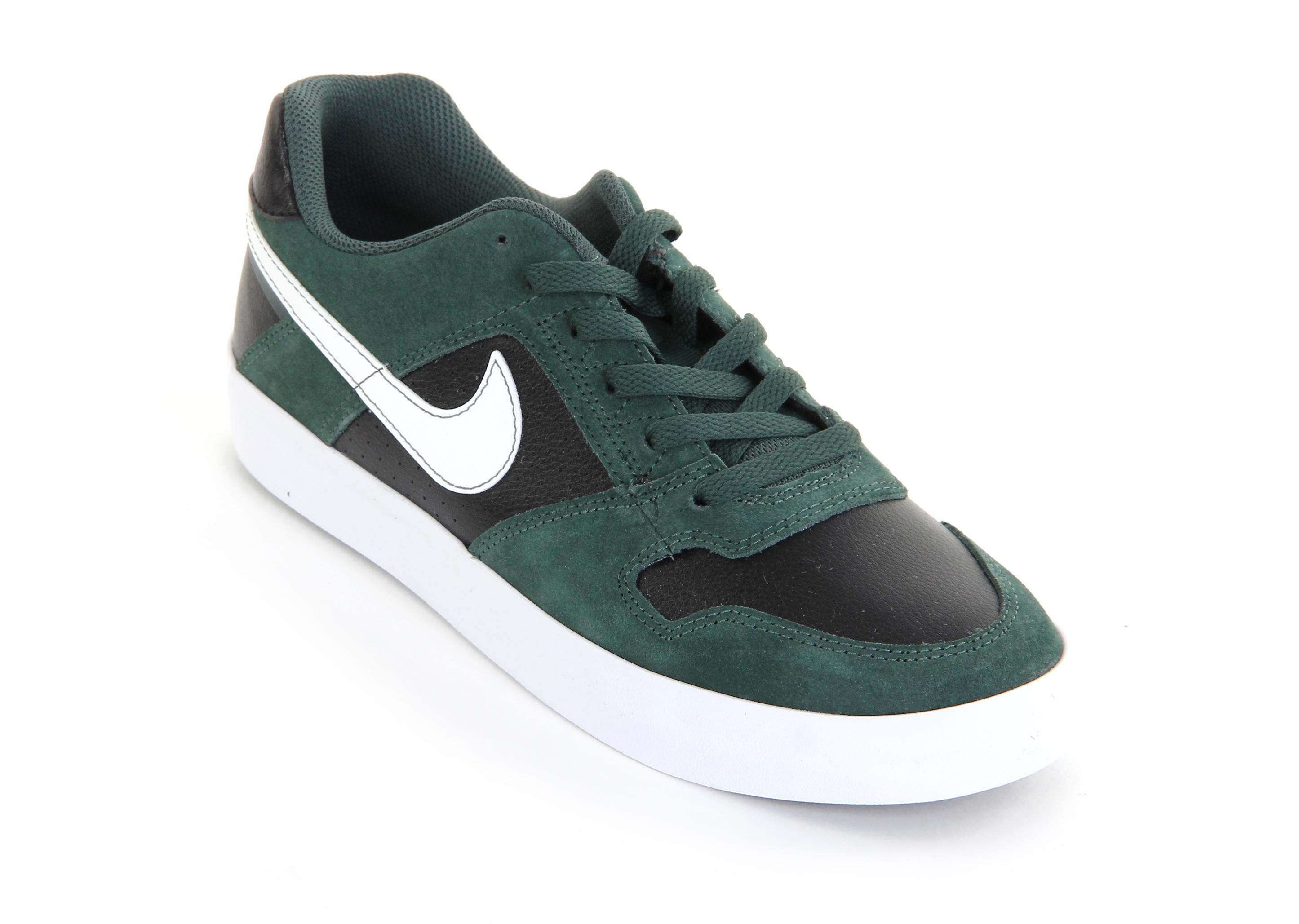 Nike SB Delta Force Vulc Schuh Blau Weiß