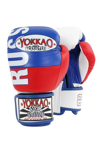 Перчатки боксерские Yokkao Russia flag