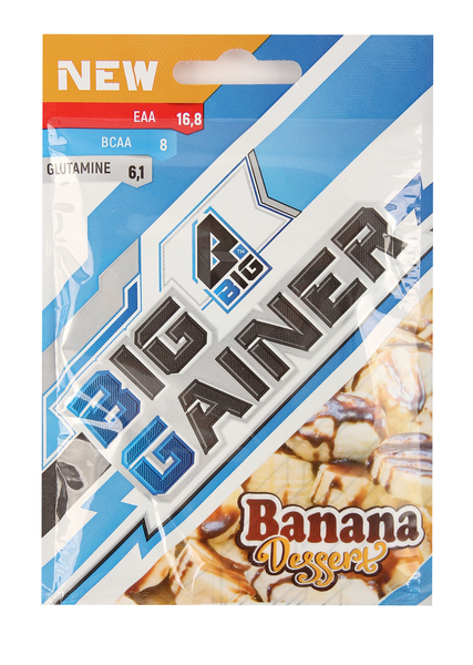 Смесь белково-углеводная BIG Gainer Banana Dessert 50 г