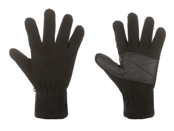 Перчатки женские флисовые утепленные AS4 черные
