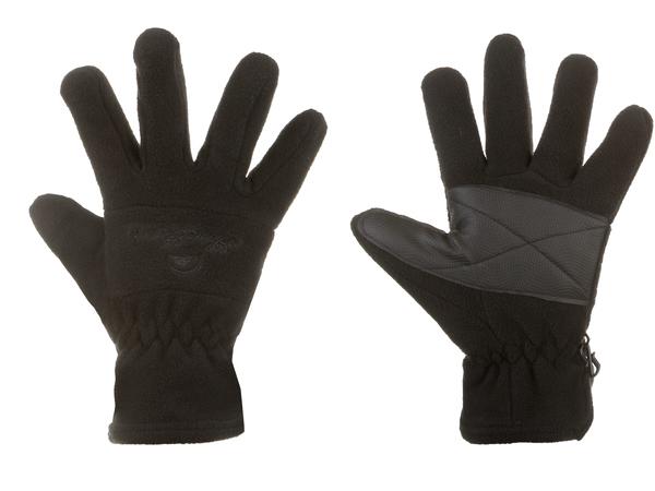 Перчатки флисовые  Monte Grande черные ONESIZE