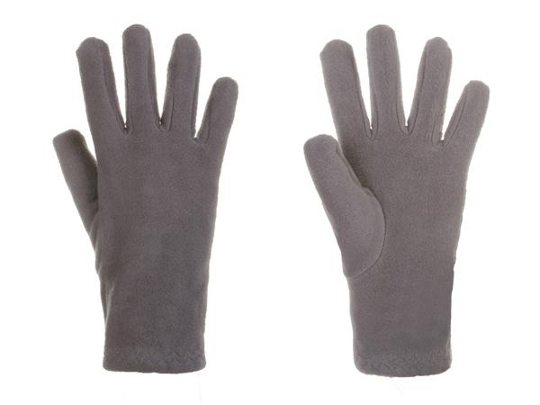 Перчатки женские флисовые AS4 серые