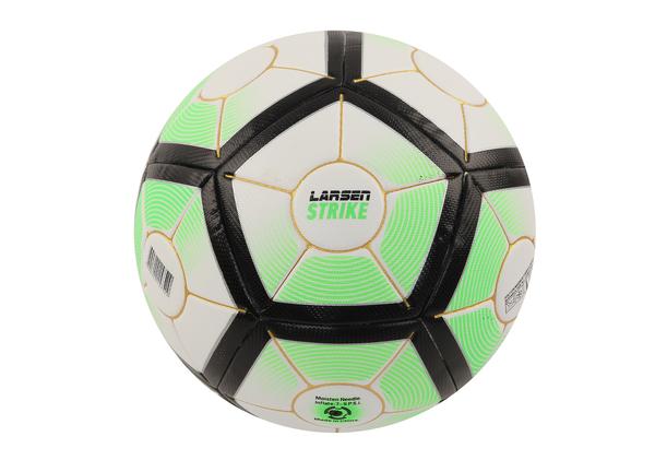 Мяч футбольный Larsen Strike Green
