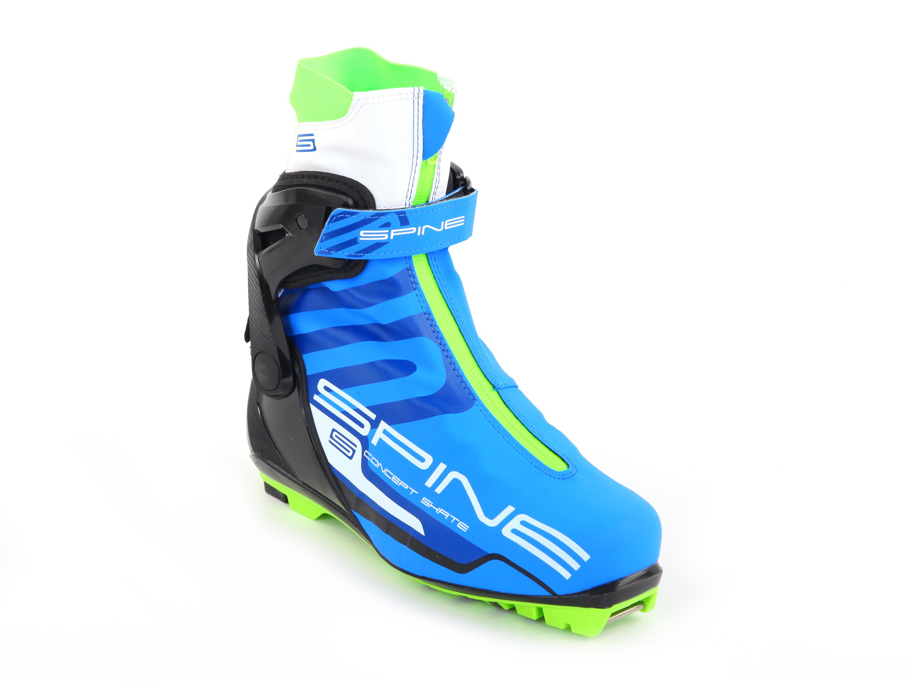 2171972b Ботинки лыжные Spine Concept Skate PRO 297 (NNN) - Сеть спортивных ...