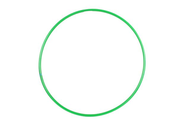 Обруч пластмассовый 70 см зеленый