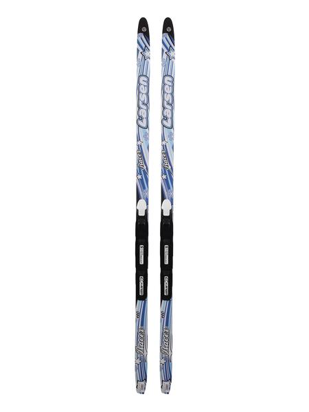 Лыжи беговые детские с креплениями Larsen Racer