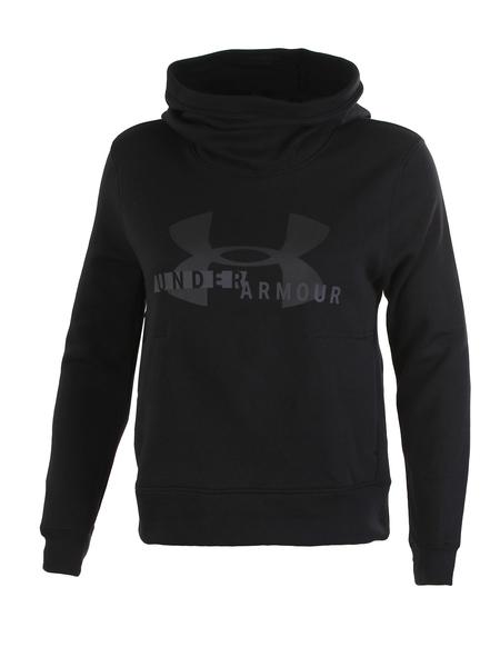 Толстовка женская Under Armour Cotton Fleece Sportstyle Logo