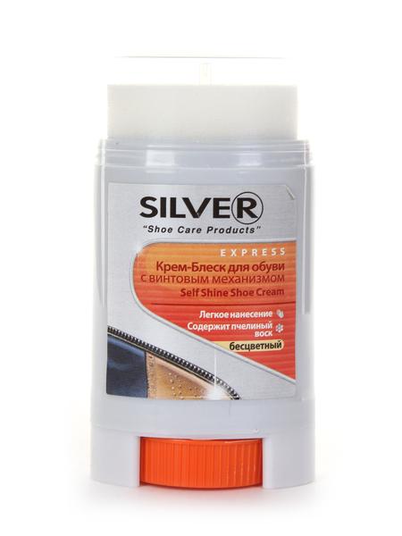 Крем-блеск для обуви Silver KS1008-03 50 мл бесцветный