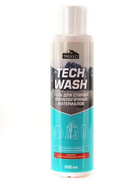 Гель для стирки одежды из мембранных тканей Trekko Tech Wash 500 мл