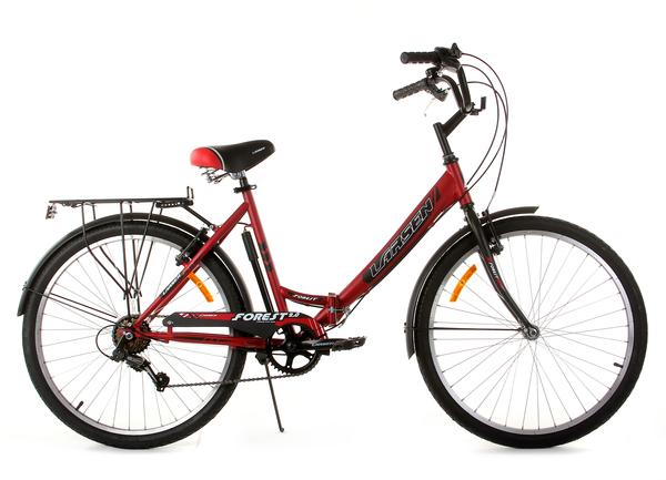"""Велосипед дорожный складной Larsen Forest 2.0 26"""""""