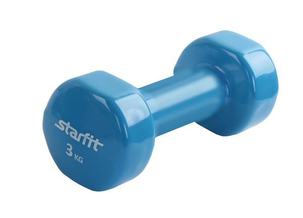 Гантель виниловая StarFit DB-101 3 кг