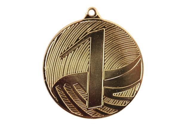 Медаль 1 место MD 1291/G (50 мм)