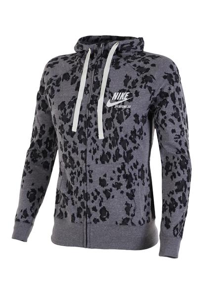 Толстовка женская Nike W NSW GYM VNTG HOODIE FZ LPRD
