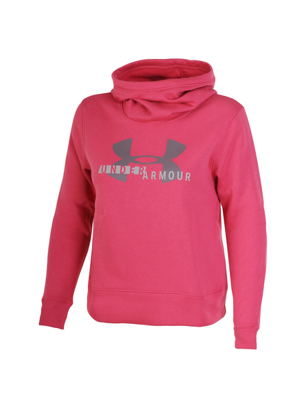 Толстовка женская Under Armour Cotton Fleece Sportstyle Logo