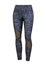 Лосины женские Under Armour HeatGear Armour Ankle Crop Print