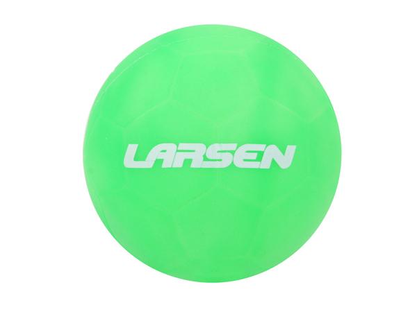 Мяч силиконовый неоновый Larsen d15 см