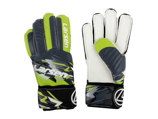 Перчатки вратарские Larsen  Agressive серый/зеленый