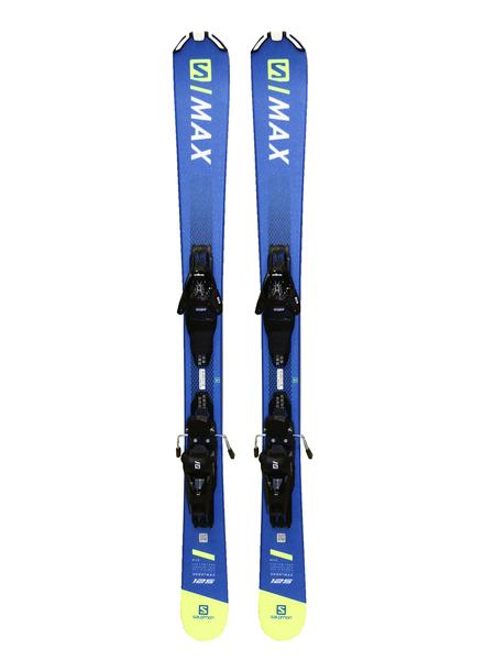 Лыжи горные с креплениями Salomon E SHORTMAX 120 + L10 G 125