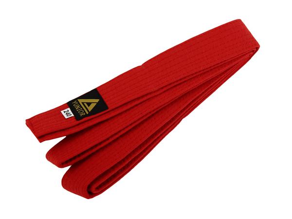 Пояс для кимоно YUNIOR красный