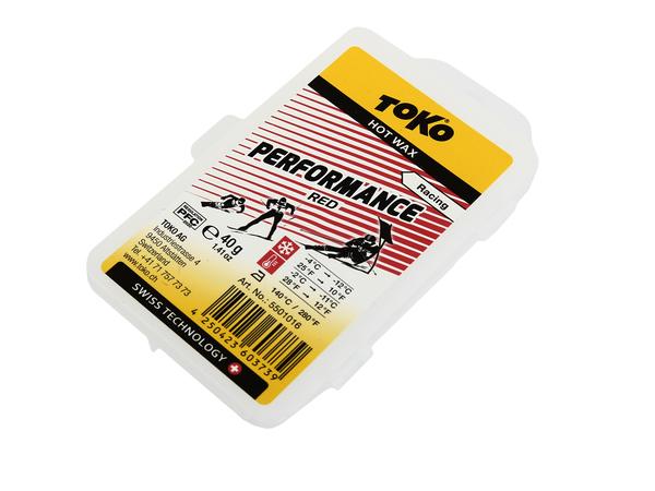 Парафин Toko HF Performance red 40г