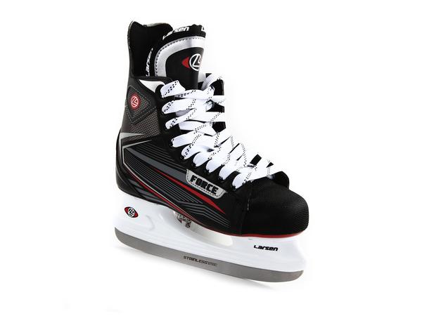 Коньки хоккейные Larsen Force черные