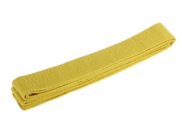 Пояс для кимоно Green Hill желтый