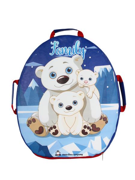 "Санки-ледянка мягкая  ""Snowkid"" 50 см Family Медведи"