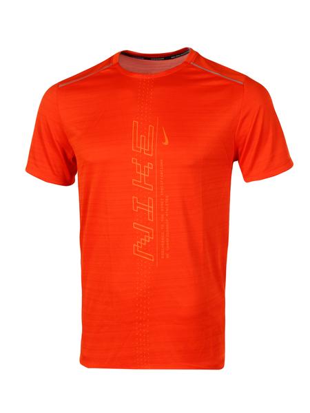 Футболка мужская Nike Dri-FIT Miler SS PO GX FF