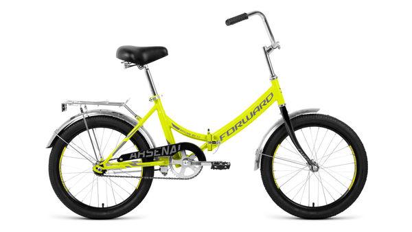 Велосипед дорожный Forward ARSENAL 20 1.0  зеленый/серый