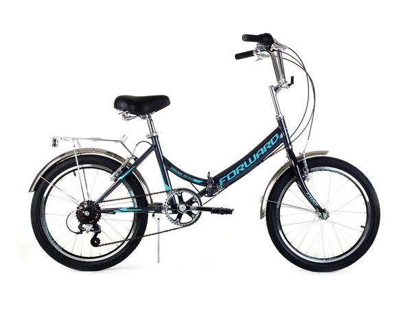 Велосипед дорожный Forward ARSENAL 20 2.0  серый/бирюзовый